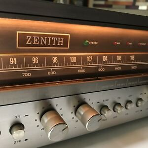 Vintage ZENITH MC 7031 Home Stereo RECEIVER tested