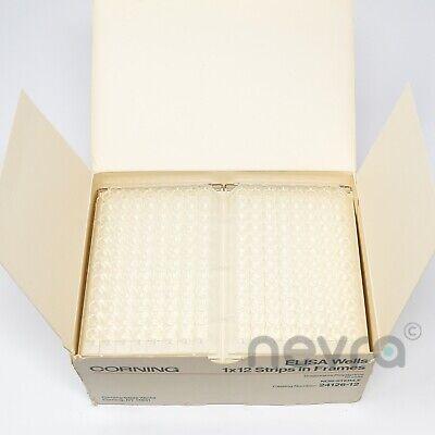 Corning 24126-12 Elisa Wells 1x12 Strips In Frames Disposable Polystyrene 10 Uni