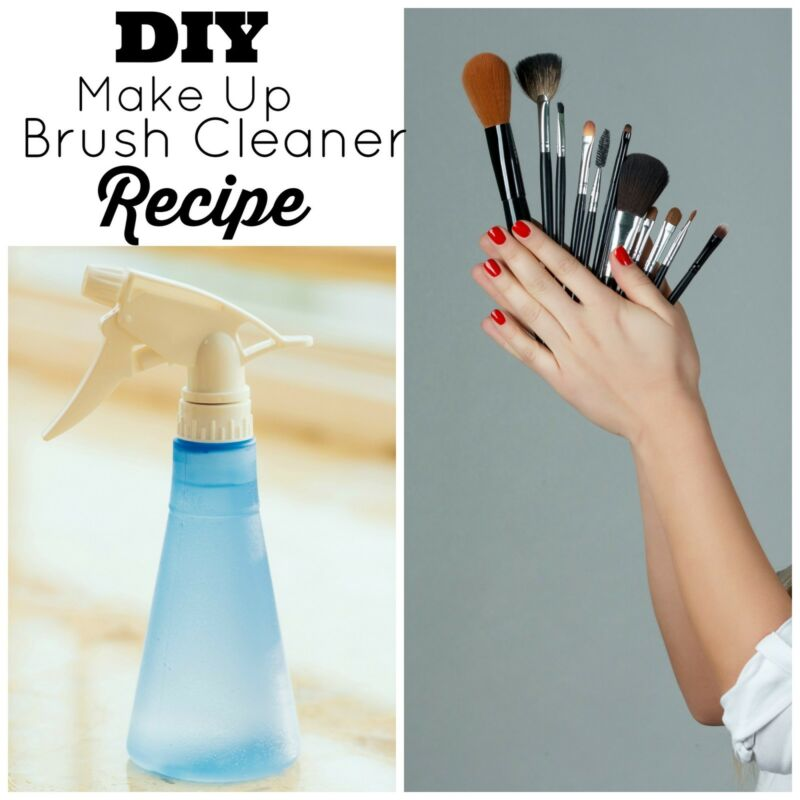 DIY Make Up Brush Cleaner Recipe
