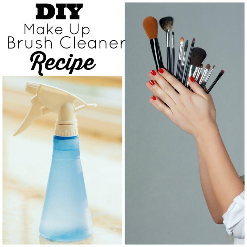 DIY Make Up Brush Cleaner Recipe
