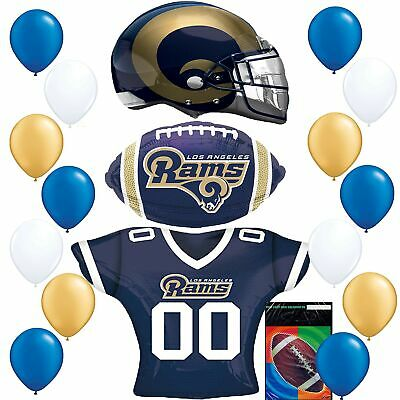 Los Angeles Rams LA Football NFL Party Supplies Sports Team Helmet Jersey Bal...](Party Supplies Los Angeles)