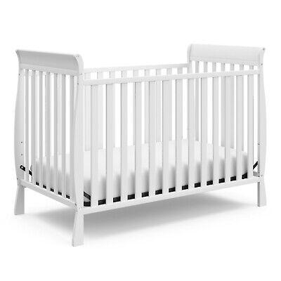 Storkcraft Maxwell 3-in-1 Convertible Crib, White