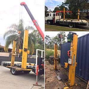 Machinery delivery - equiped with Skates, Crane, Chains, Slings Tingalpa Brisbane South East Preview