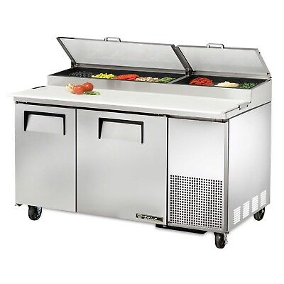 True Tpp-60 Commercial Solid Door Pizza Prep Table