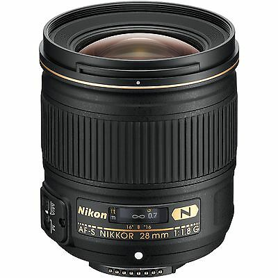 Nikon AF-S NIKKOR 28mm f/1.8G Lens for Digital SLR Cameras