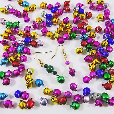 150 300 Schellen Glöckchen Glocke Jingle Bells Mix 9 mm Basteln Deko Trends News