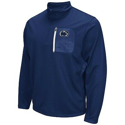 Penn State Nittany Lions Ncaa Colosseum Surge 1/4 Zip Fleece Pullover XL/Navy!!