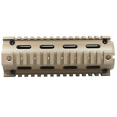 Handguard Picatinny Quad Rail Mounting System 2 Piece Drop-In