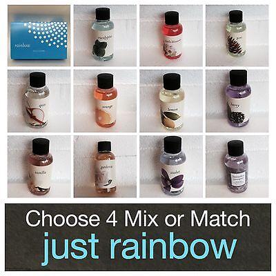 Choose Four Rainbow Vacuum   Rainmate 2 Oz  Fragrances Oils Scents  Mix Or Match