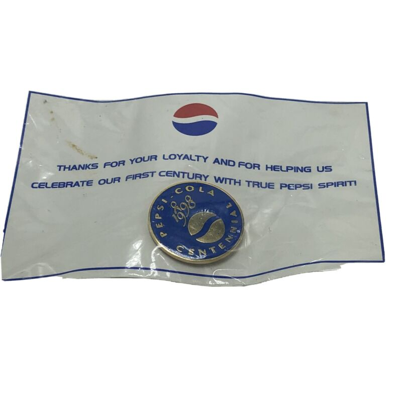 Pepsi Vintage Blue 1998 Employee Only Pin New Centinial Z5