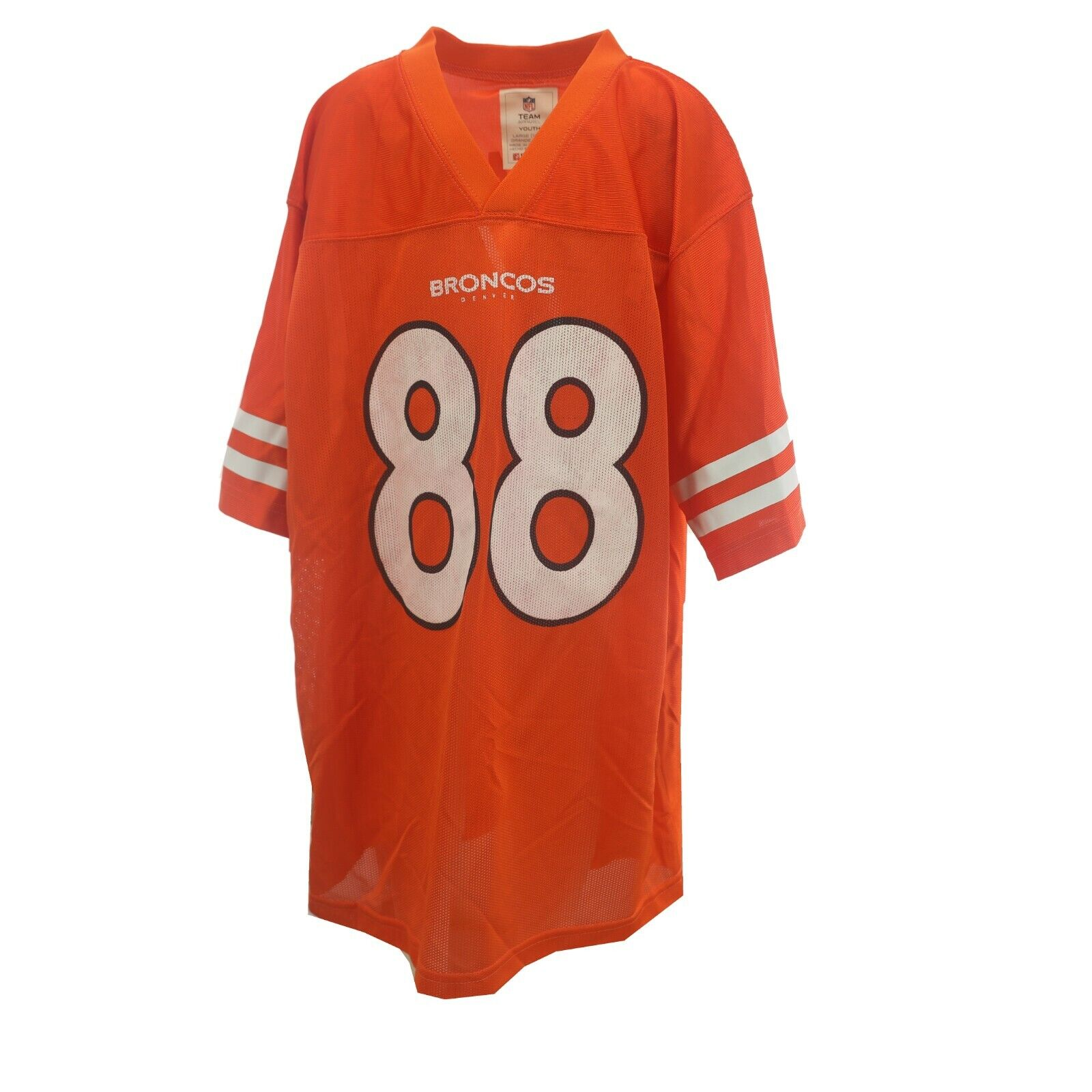 Details about Defect Discount Denver Broncos Thomas Official NFL Kids Youth Size Jersey New