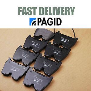 genuine pagid front brake pads audi rs4 b7 v8 rs6 c5 new ebay. Black Bedroom Furniture Sets. Home Design Ideas