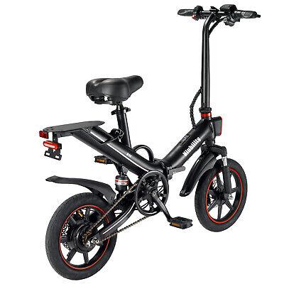"14"" Folding Electric Bike 400W Power Assist E-Bike Mountain Bicycle 15AH 25km/h"