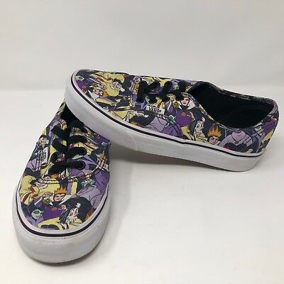 Vans Disney Villians Womens Shoes Sz 6.5 Ursula Cruella Evil Queen Maleficent ](Women Villian)
