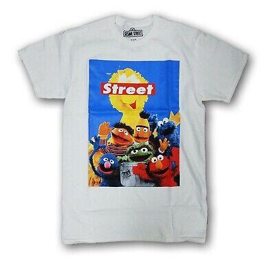 Sesame Street 123 Men's White Short Sleeve T-shirt
