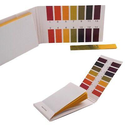 320 Stk.1-14 pH Wert Teststreifen Indikatorpapier Strips Messung Pool Wassertest