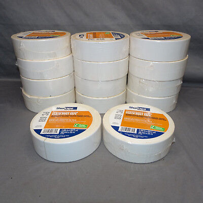 Lot Of 14 Rolls Shurtape Pc 618 Cloth Duct Tape 2 X 60 Yds. 48mm X 55m White