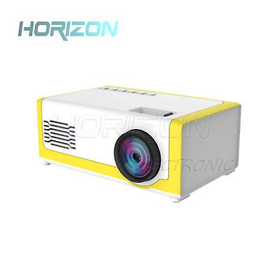 Mini Portable Projector VS YG300 3D HD LED Home Theater Cinema 1080p AV USB