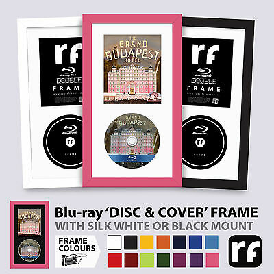 Blu-ray Frame DISC & COVER Wood Colours Black White Limited