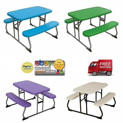 Lifetime Childrens' Picnic Table Foldable *PICK YOUR COLOR* (Childs Picnic Table)
