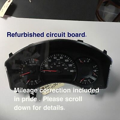04 05 Nissan Armada ,Titan Speedometer , 24810-7S005