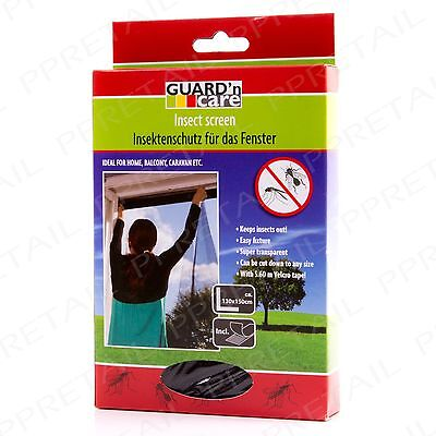 Large Window Screen Mesh Net Insect Fly Bug Mosquito Moth Door Netting Cover