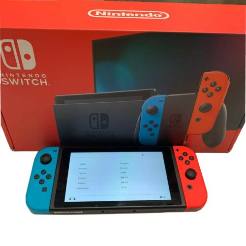 Nintendo Switch Neon Red And Neon Blue Joy-Con Console - $415.00