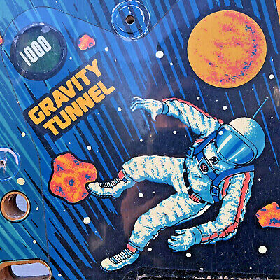 Gottlieb Black Hole Pinball Game Machine Upper Playfield