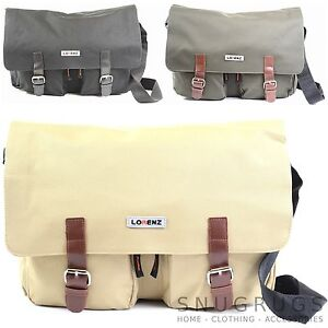 Large-Canvas-Style-Messenger-Cross-Body-Shoulder-Work-Travel-School-Satchel