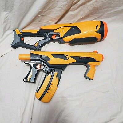 Lot of 2 NERF Hasbro Dart Tag Swarmfire Quick 16