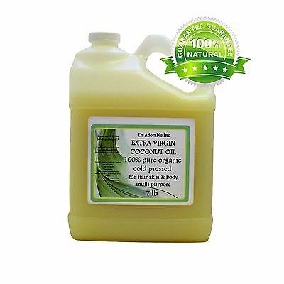 7 Lb / 1 Gallon Premium Pure Organic Cold Pressed Best Ex...