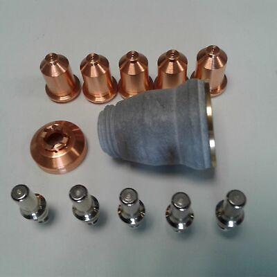 12pc Shielded Drag Kit Fits Everlast 50s52i60s62i Plasma Cutter Iptm 60 Torch