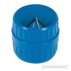 New Silverline Universal Pipe Reamer Internal External Deburrer Cleaner 633944