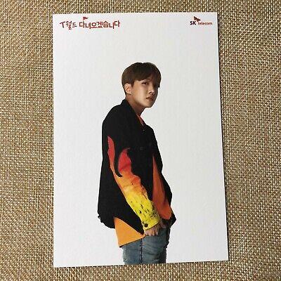 BTS J-HOPE [ SKT Official Postcard Photocard Limited ] / New, Rare / + Gift