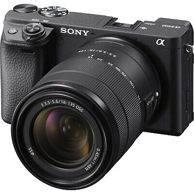 Sony A6400 w/18-135mm OSS Lens (ILCE6400M) *NEW* *IN STOCK*