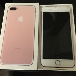 iPhone 7 Plus 32 gig rose gold