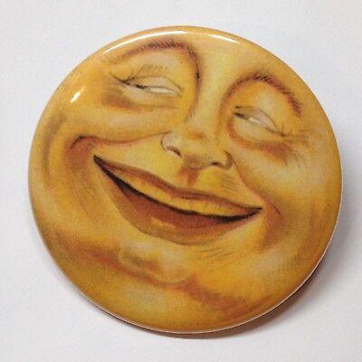 Moon Face Vintage Style Fridge Magnet BOGO