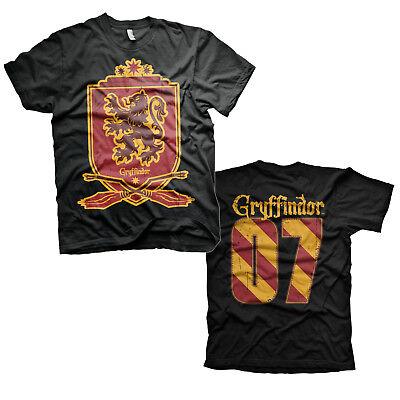 Harry Potter Gryffindor Haus Wappen Crest #07 Quidditch Team Männer Men T-Shirt