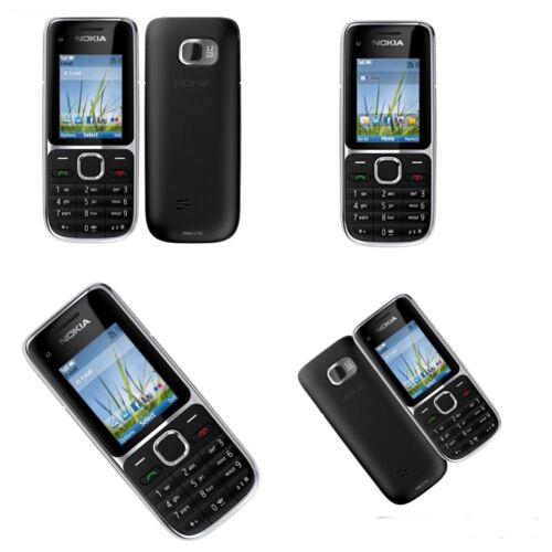 Android Phone - New Condition-Nokia C2-01- Black(Unlocked)Mobile Phone-warranty-return accepted