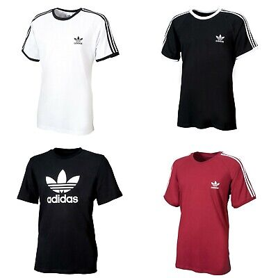 Adidas Originals 3 Stripes California Essentials Trefoil kurzärmliges T-Shirt  Originals 3 Stripes Trefoil