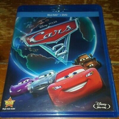 Blu-ray / DVD Combo - Disney Pixar's Cars 2  NO DIGITAL COPY