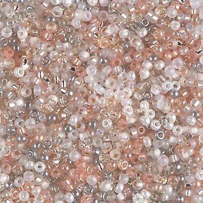 11/0 Moonstone Glass Round  Miyuki Seed Beads 10 Grams (Miyuki Glass Beads)