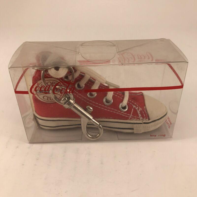 Vintage Coca Cola Shoe Sneaker Keychain