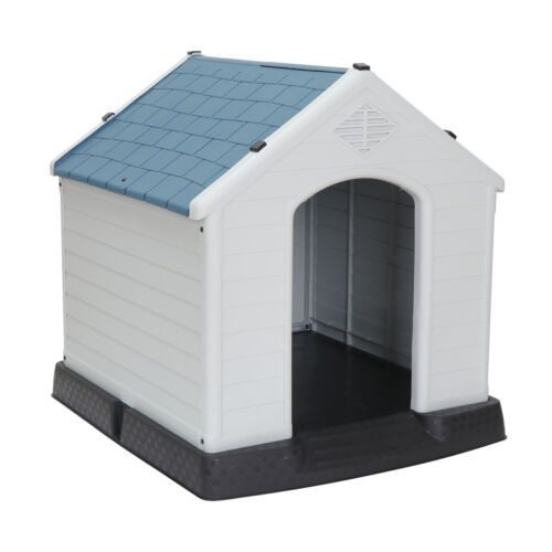 All-Weather Design Dog House Shelter Easy to ...