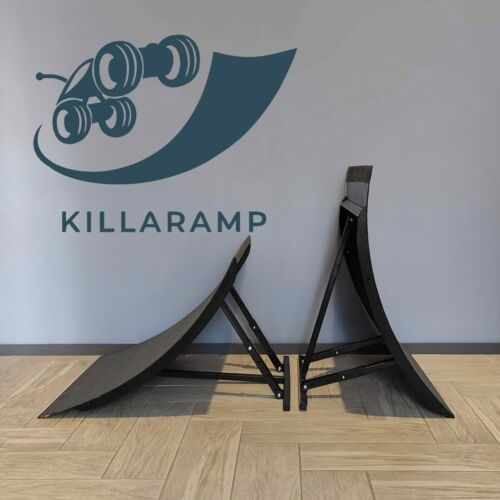 Portable adjustable foldable RC ramp for bashing Killaramp