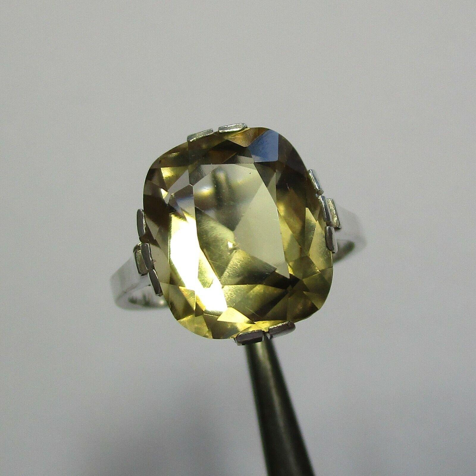 Art Deco Ring aus 830 Silber mit Citrin 8852836999