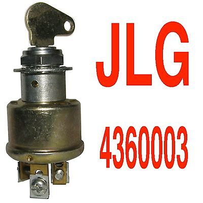 Jlg Ignition Key Switch Jlg 4360003 4360003 New