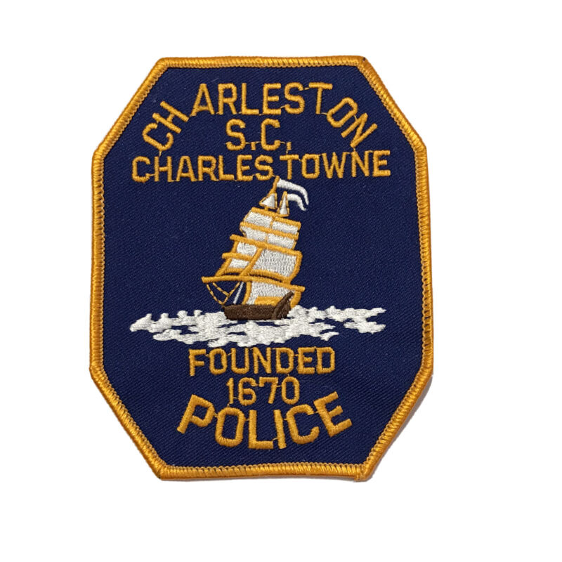 Charleston South Carolina Police Department Shoulder Patch