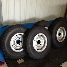 70 series Land Cruiser wheels and tyres Bairnsdale East Gippsland Preview