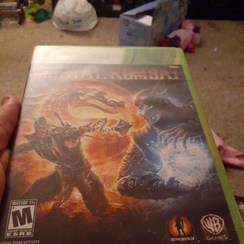 Mortal Kombat Microsoft Xbox 360, 2011  - $9.00